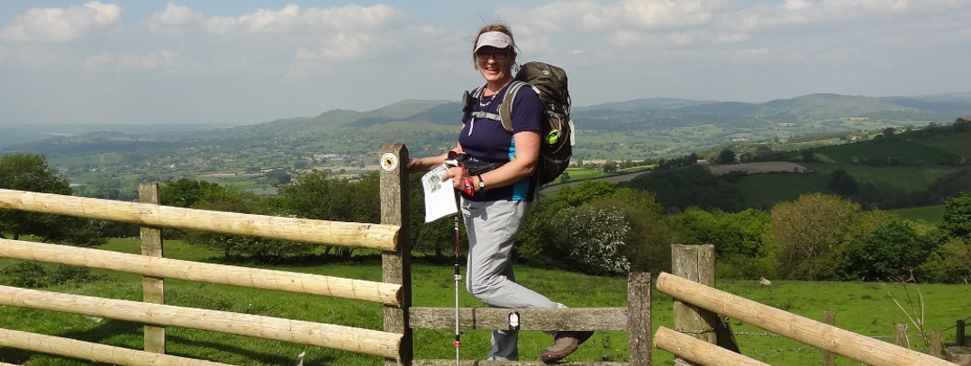 Offa's Dyke Path walking holidays - Near Mellington