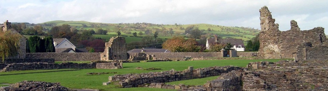 Ribble Way walking holiday - Sawley Abbey